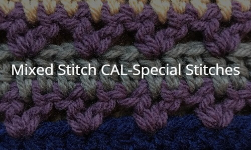Mixed Stitch CAL-Special Stitches