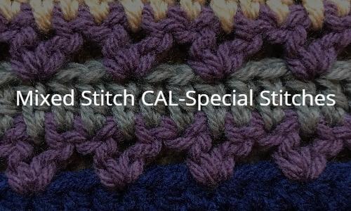 Mixed Stitch Blanket Crochet Along Pattern