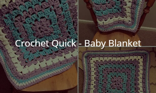 Crochet Quick Baby Blanket Couch Surfer Crochet