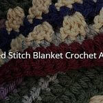 Mixed Stitch Blanket CAL