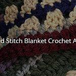 Mixed Stitch Blanket CAL