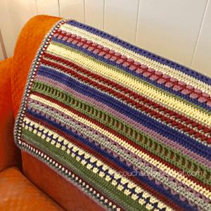 Mixed Stitch Blanket Crochet Along