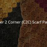 C2C Scarf Crochet Pattern