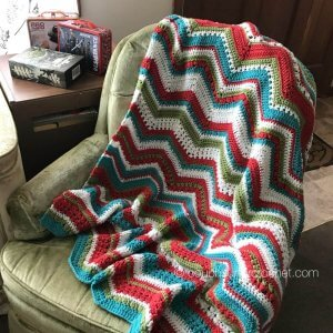 Changing Chevrons Crochet Along Intro - Couch Surfer Crochet