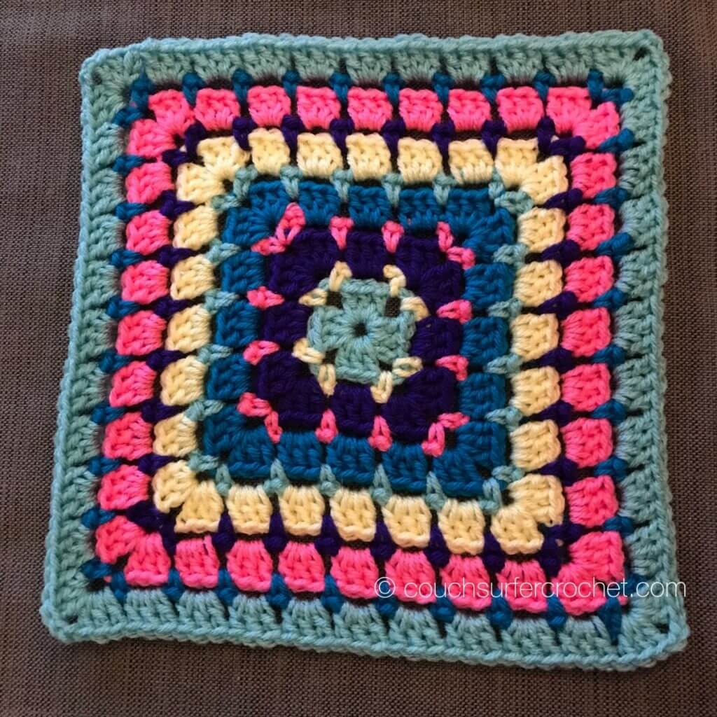 9638cc8b5 2019 Block-A-Week : Week 6 - Couch Surfer Crochet